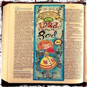 biblejournaling lukas 4